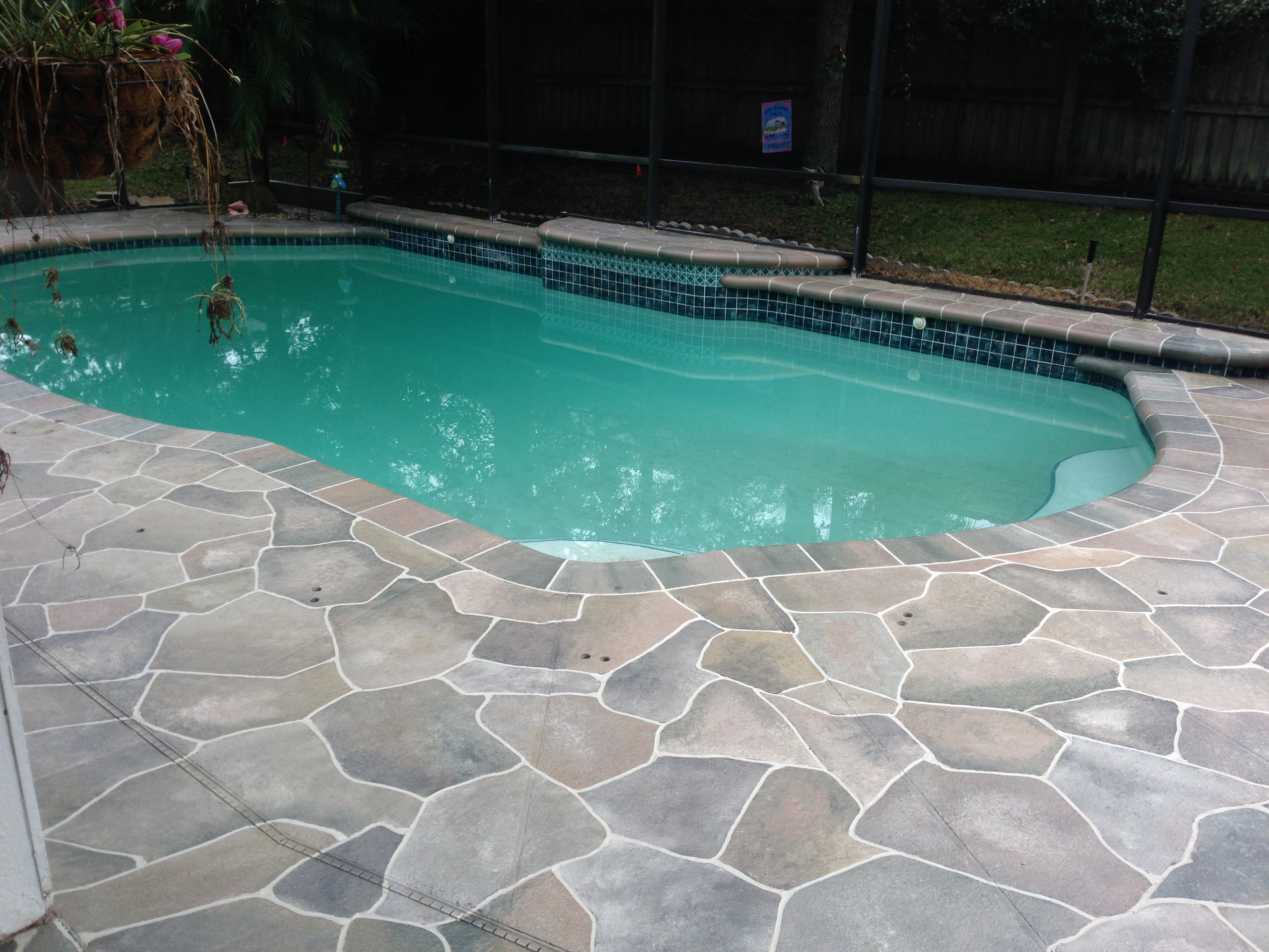 Concrete Designs Florida | pool deck decorating on Pool Deck Patio Ideas  id=16305