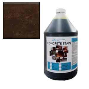 black acid stain