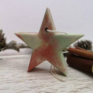 Red and Green Hanging Star or Tree Main photo