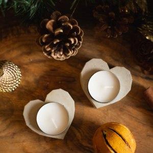 Heart tealight holder main photo