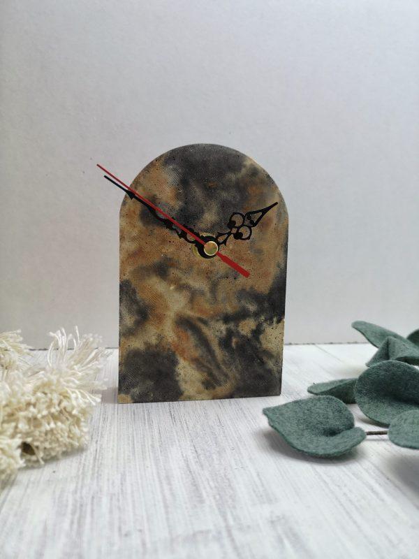 Marbled Mantelpiece Clock photo 1