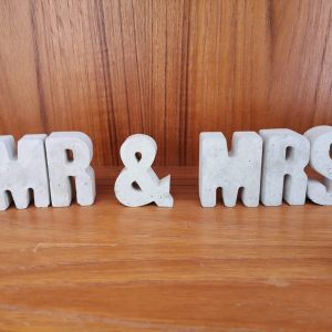 Mr and Mrs Concrete Letters main photo
