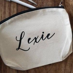 Personalised Make Up Bag main photo