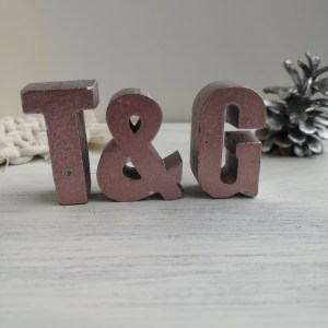 Rose Gold Letters main photo