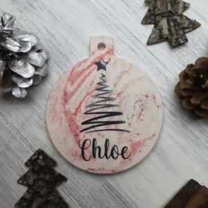 Personalised Christmas Bauble main photo