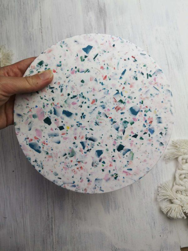 Round Terrazzo Platter photo 1