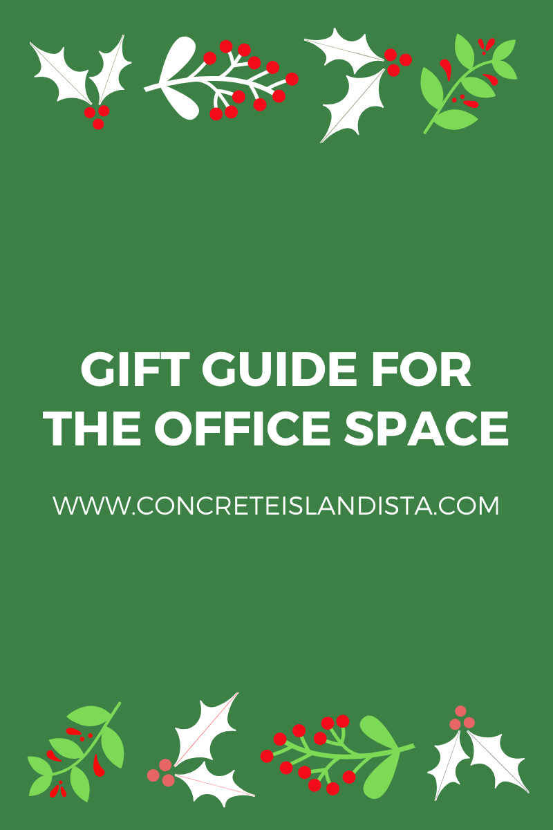 Gift guide for the office space