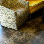 Coffee Lounge Concrete Stain