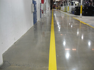 concrete floor polishing indiana