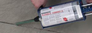 Roadware Flexible Cement II 91300 600ml Cartridge