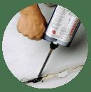 Roadware 10 Minute Concrete Mender™ Top Applications