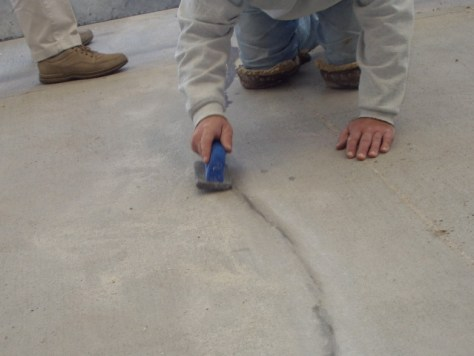 Concrete Mender Crack Repair Exterior