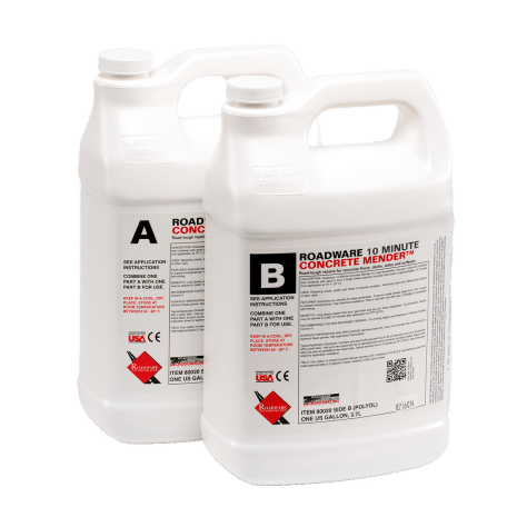 80020 Two-Gallon Kit of Roadware 10 Minute Concrete Mender