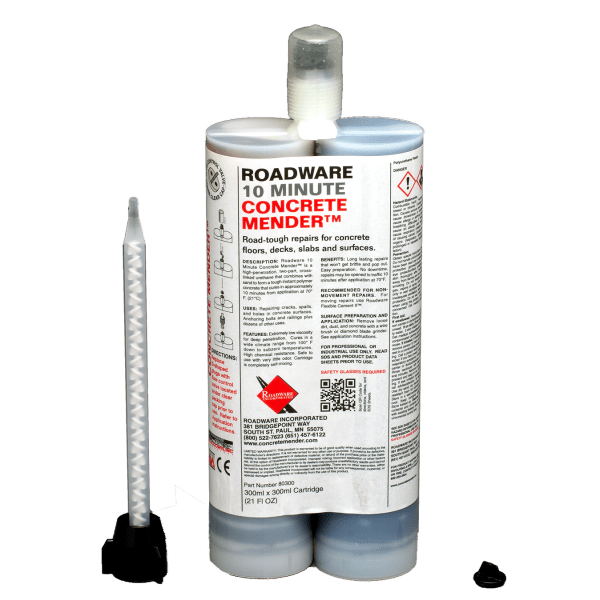 Roadware 10 Minute Concrete Mender 80300 600ml Cartridge.