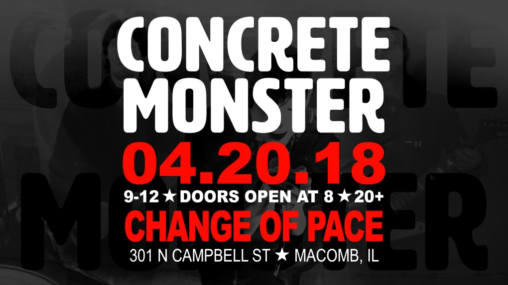 concrete monster show 042018