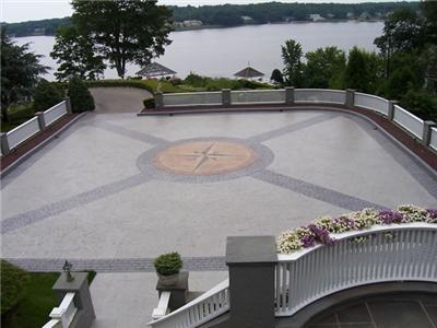 Concrete Patio Designs, Concepts and Ideas | Concrete Patio on Backyard Concrete Patio Designs  id=60956