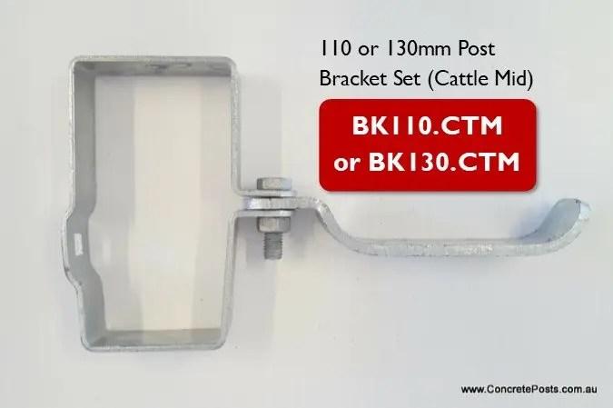 BK.CTM – Post Bracket Set (Cattle Mid)