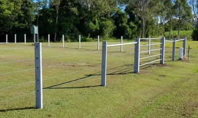 Roys Fence Coraki Gate w Cnr