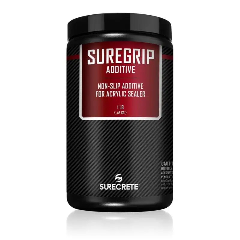 SureGrip Non Skid Traction Additive for floor coating. Slip resistant traction additive for concrete floor paint. Polypropylene shark grip sand for floor paints. Suregrip traction additive helps install a safe non slip floor coating.