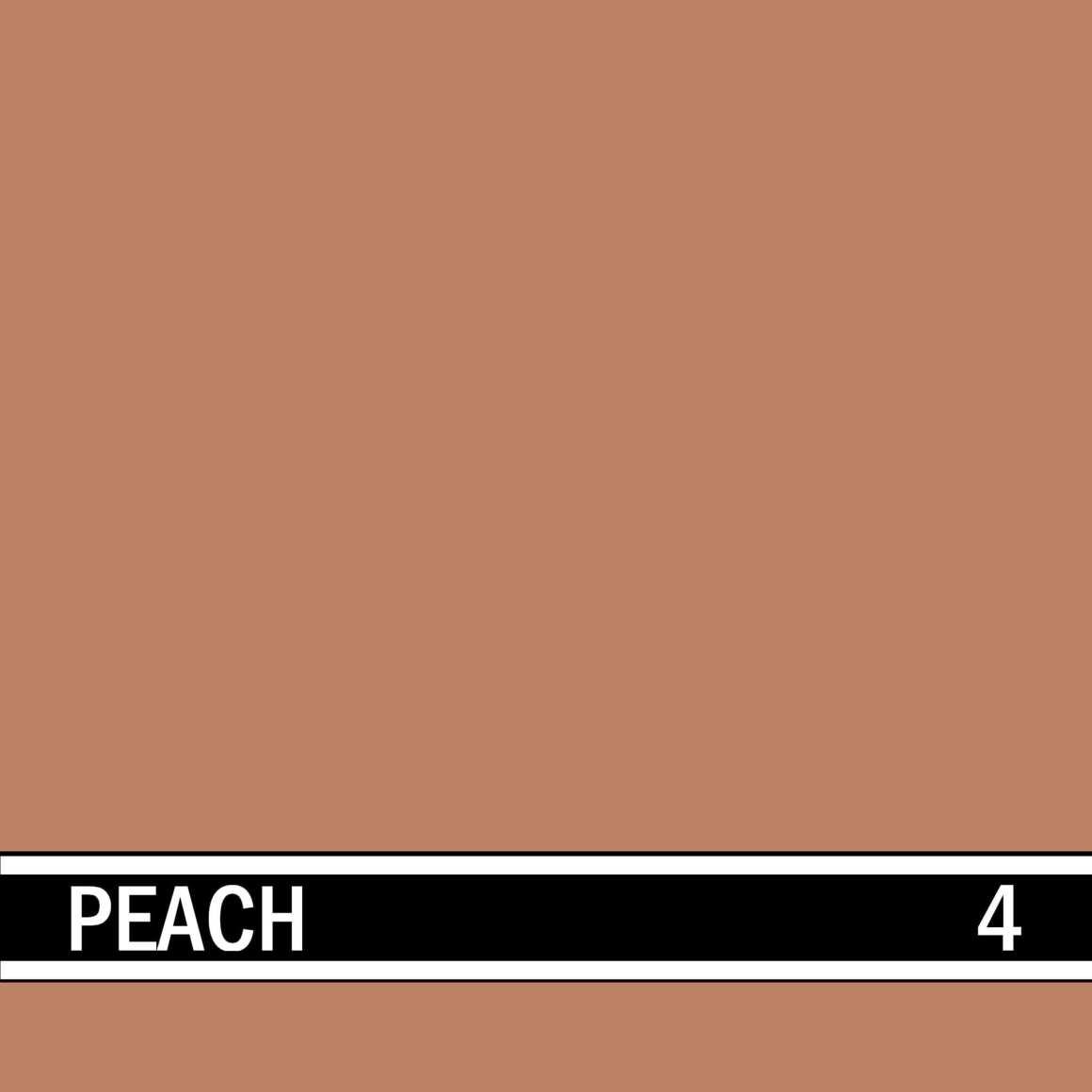 Peach integral concrete color for stamped concrete and decorative colored concrete