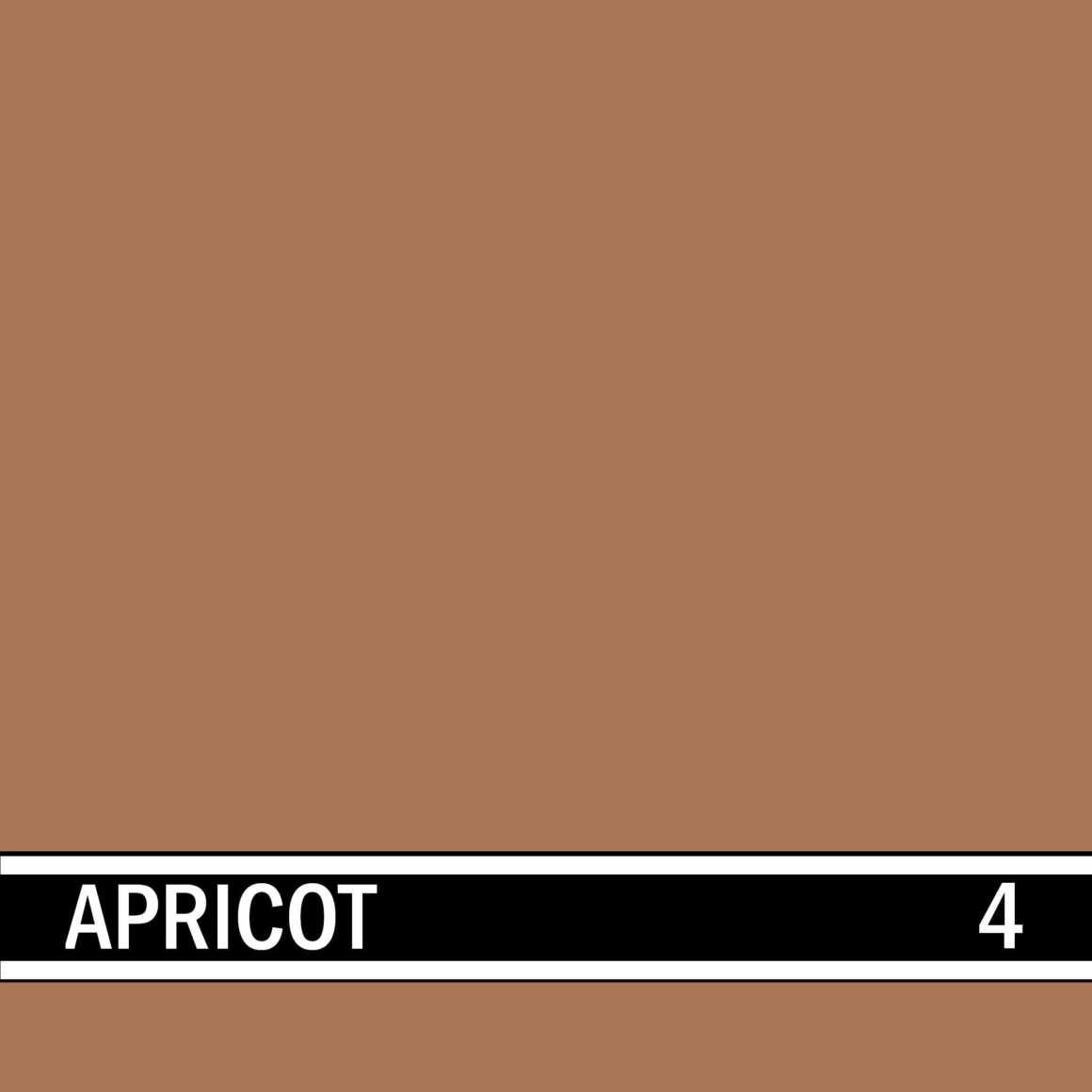 Apricot integral concrete color for stamped concrete and decorative colored concrete