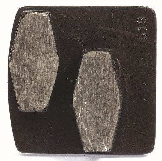 Bauta Double Concrete Grinding Diamond Tool with two diamond segments for concrete surface preparation grinders