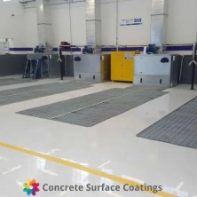 csc car repair shop epoxy floor