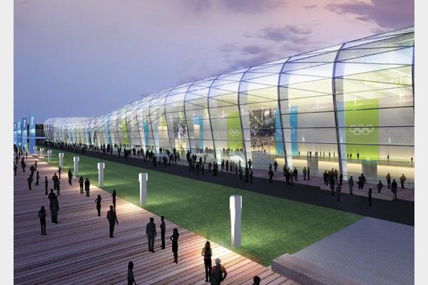 Centro Olímpico Nacional de Treinamento - BCMF Arquitetos - Fonte: rio2016.org.br