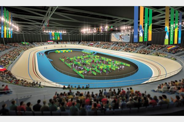 Velódromo Olímpico do Rio - BCMF Arquitetos - Fonte: rio2016.org.br
