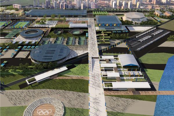 Vila dos Patrocinadores - BCMF Arquitetos - Fonte: rio2016.org.br