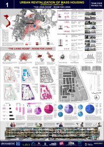 Concurso Mass Housing - Regional - Ásia e Pacífico - Segundo Lugar - Prancha 1