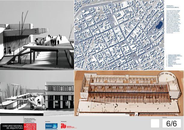 Concurso de Arquitetura - Mercado Público de Lages - 3º Lugar - Prancha 06