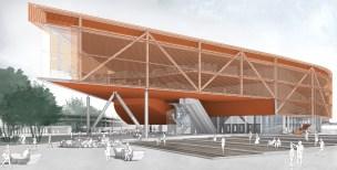 Concurso Anexo da Biblioteca Nacional - Primeiro Lugar - Imagem 2