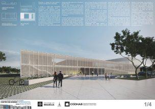Premiados - Concurso CEF - CODHAB - Terceiro Lugar - Prancha 01