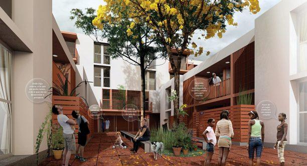 Premiados – Edifícios de Uso Misto no Sol Nascente - Trecho 2 – CODHAB-DF – Menção Honrosa – Imagem 01