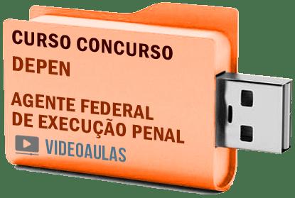 DEPEN Agente Execução Penal Videoaulas Curso Concurso