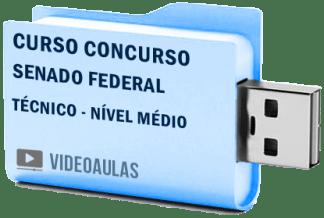 Curso Vídeo Aulas Concurso Senado Federal Técnico Nível Médio