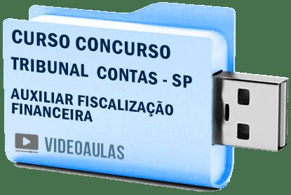 Tribunal Contas Sp Tce Auxiliar Fiscalização Financeira Curso Concurso Vídeo aula