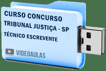 Concurso Tribunal Justiça TJ SP Escrevente Técnico Curso Videoaulas