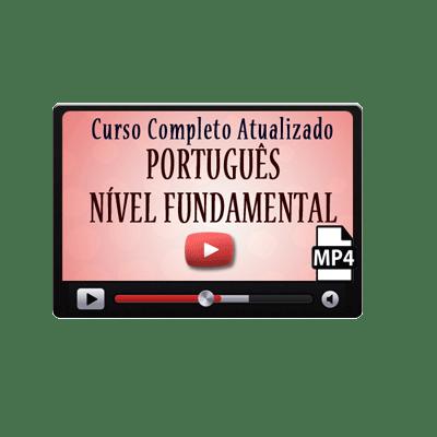 Curso Português Iniciantes Fundamental Vídeo Aula Concurso ENEM Download