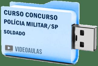 Curso Concurso Polícia Militar Sp Soldado Pm Vídeo Aulas 2019 – Pendrive