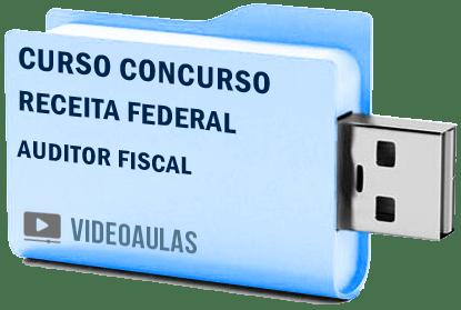 Concurso Receita Federal Auditor Fiscal Curso Videoaulas Pendrive