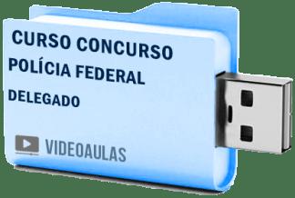 Concurso Polícia Federal Pf – Delegado Curso Videoaulas