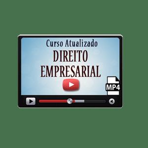 Direito Empresarial Comercial Curso Vídeo Aulas Preparatório