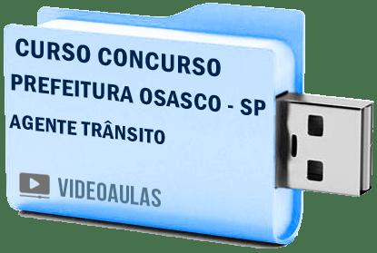 Concurso Prefeitura Osasco SP – Agente Trânsito – Curso Vídeo Aulas
