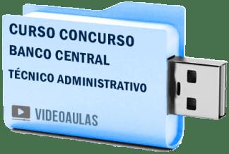 Curso Concurso Vídeo Aulas BACEN Banco Central – Técnico Administrativo 2018