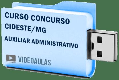 CIDESTE MG Auxiliar Administrativo Curso Concurso Vídeo Aulas