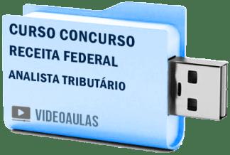 Concurso Receita Federal Analista Tributário Curso Videoaulas Pendrive