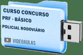 Curso Concurso PRF Básico – Policial Rodoviário – Vídeo Aulas
