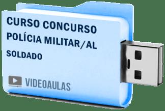 Curso Concurso Vídeo Aulas PM Polícia Militar AL – Soldado
